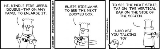 Dilbert And Doonesbury Comics Coming To The Kindle Fire