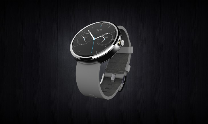 Moto 360 full leather