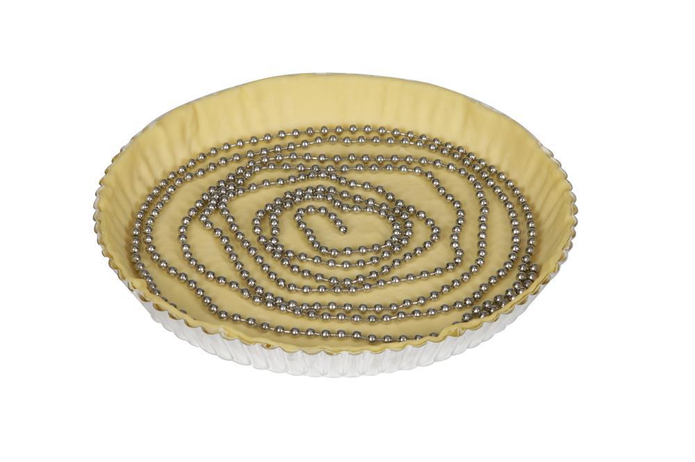 chaine fond de tarte inox