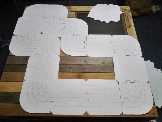 Le principe des plateaux carrés et modulables est présent depuis le tout début.