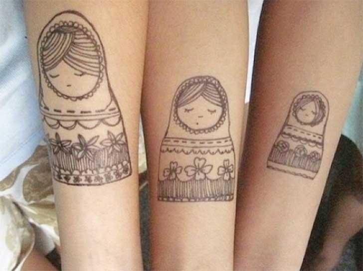 25 Fantásticos Tatuajes Para Recordar A Tus Amigos Por Toda La Vida