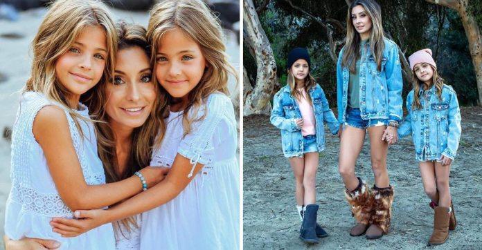 Acusan a la mamá de las gemelas más lindas del mundo de explotar la belleza de sus hijas por dinero | Upsocl