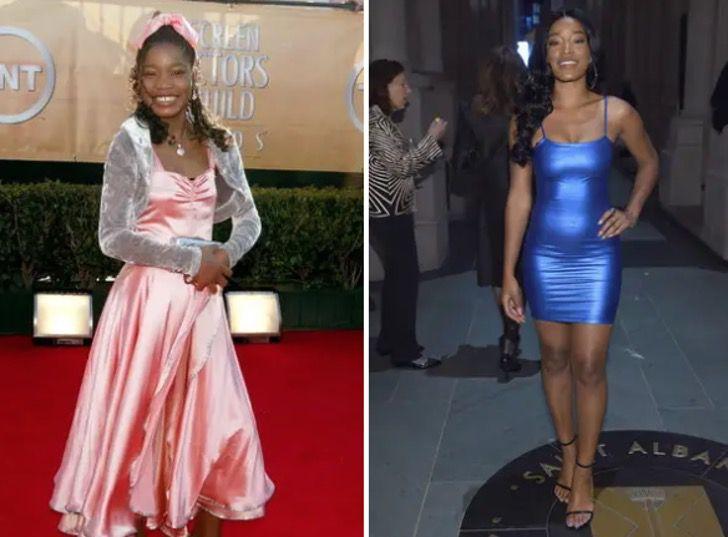 gl10 - 22 impactantes cambios de los famosos antes y después del éxito. Rihanna derrocha elegancia