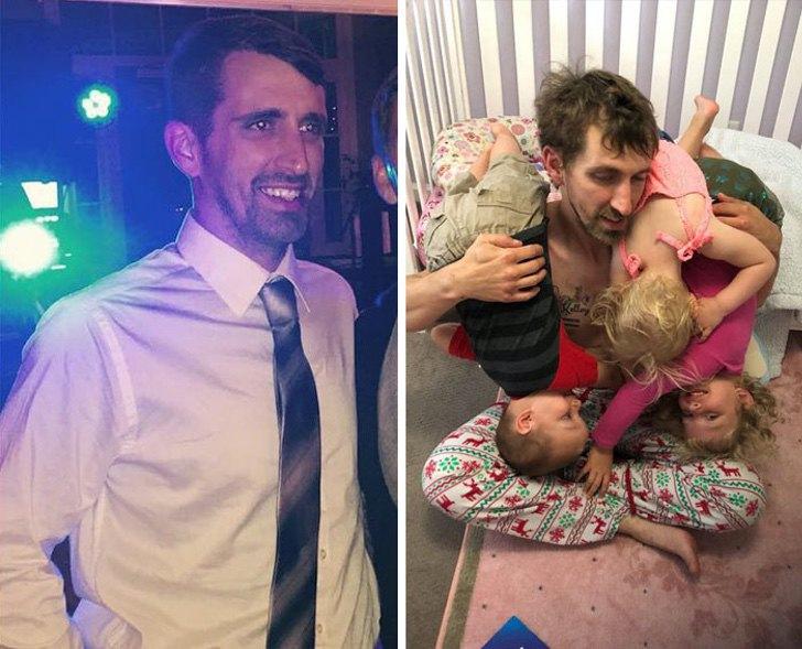 mm29 - 40 divertidas fotos que muestran cómo te cambia la vida después de que tienes hijos. Ya no es igual