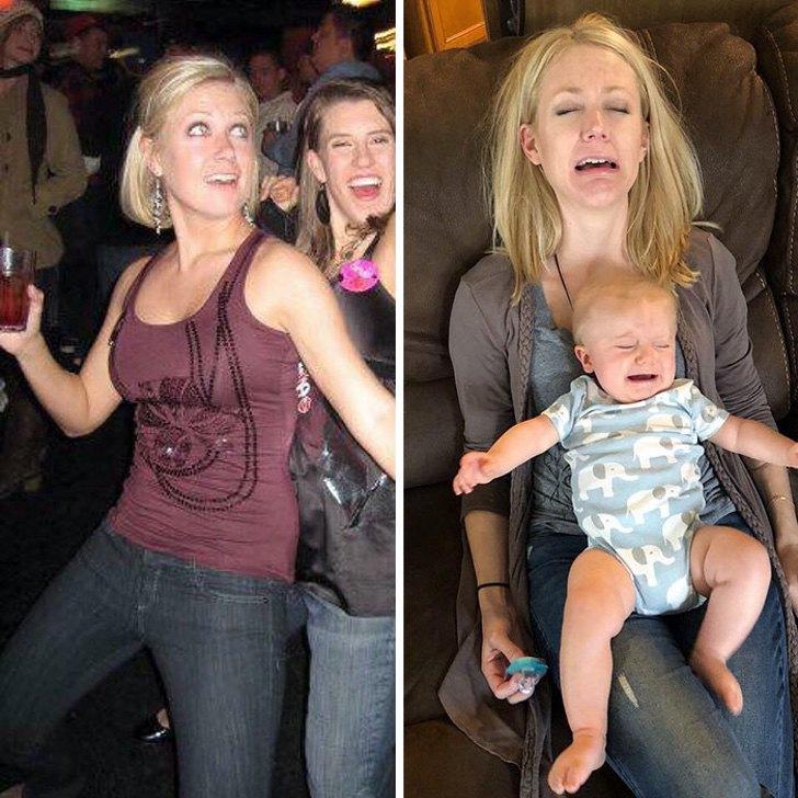 mm9 - 40 divertidas fotos que muestran cómo te cambia la vida después de que tienes hijos. Ya no es igual
