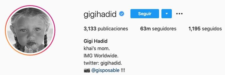 3 75 - Gigi Hadid por fin da a conocer el nombre de su bebé tras 4 meses de haber dado a luz