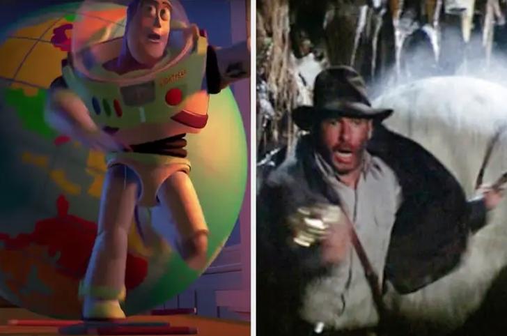 6 37 - 14 veces en que las películas de Pixar hicieron graciosas referencias a otras películas famosas