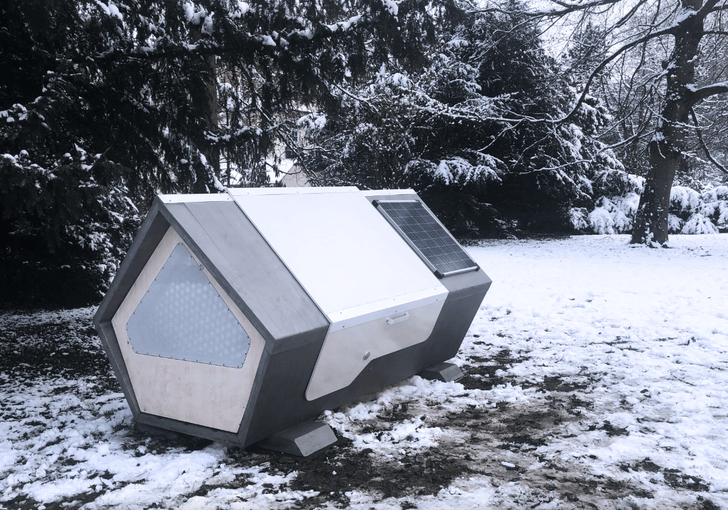 Captura de Pantalla 2021 01 22 a las 11.40.38 - German city installs heated sleeping pods for people living on the street, They'll no longer suffer the cold.