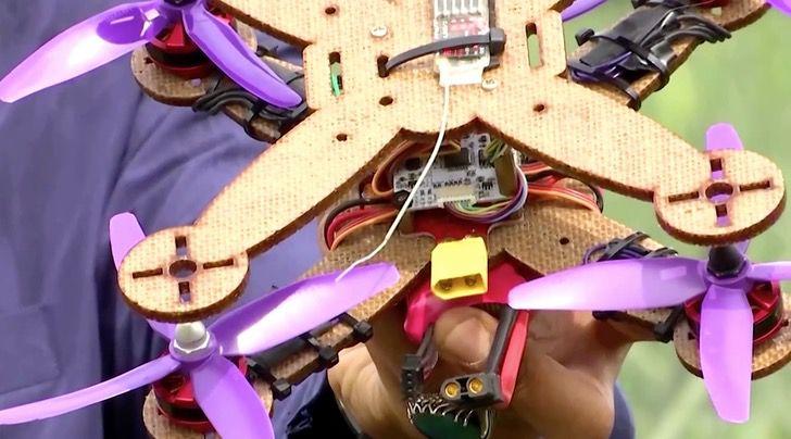 malasia dron tecnologia reciclaje pina fruta ciencia0004 - En Malasia los científicos utilizan hojas de piña para hacer drones. Ciencia y naturaleza unidas