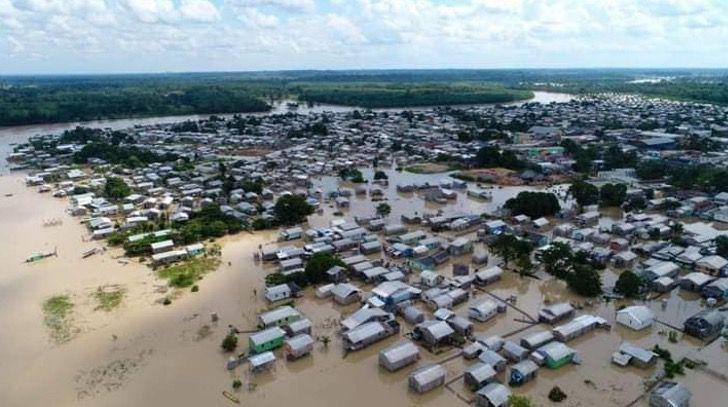 Captura de Pantalla 2021 02 24 a las 16.57.13 - Familia escapa de inundación en Brasil con sus perros en brazos. No iban a dejarlos abandonados