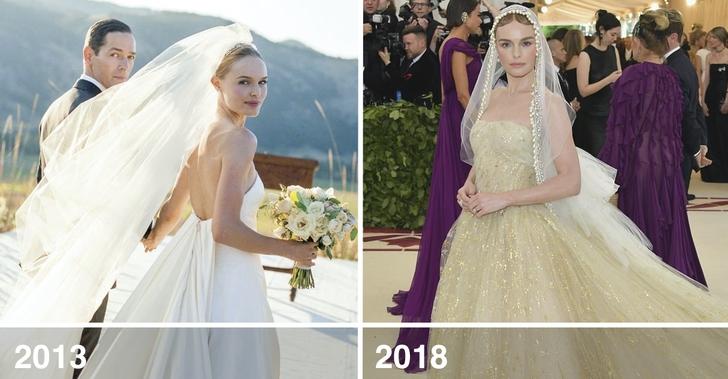 10 45 - 10 famosas que desempolvaron sus antiguos vestidos de novia y los volvieron a usar