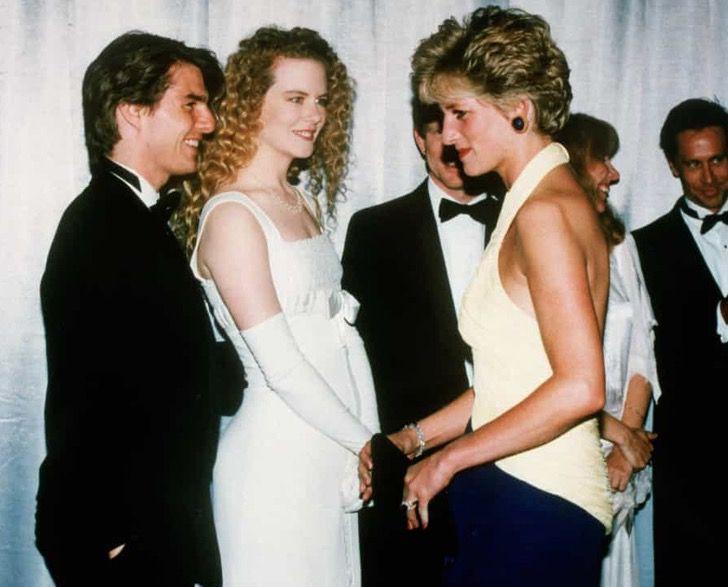 princesa diana famosos8 - 19 fotos de famosos que tuvieron la oportunidad de conocer a la princesa Diana de Gales