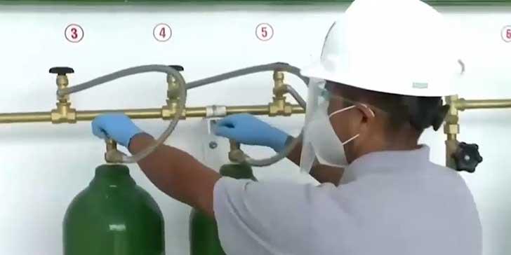 jovenes peruanos planta de oxigeno004 - Jóvenes peruanos realizan planta de oxígeno para ayudar a afectados por la pandemia del COVID-19
