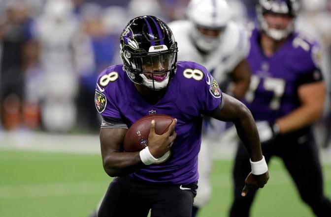 Ravens beat Colts despite Lamar Jackson's difficulties