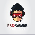 Gamer Design Logo Gaming Photos Free Template Ppt Premium Download 2020