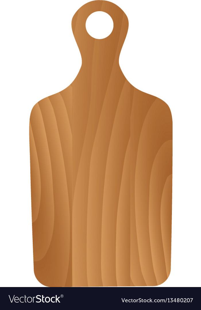 White Wood Cutting Board
