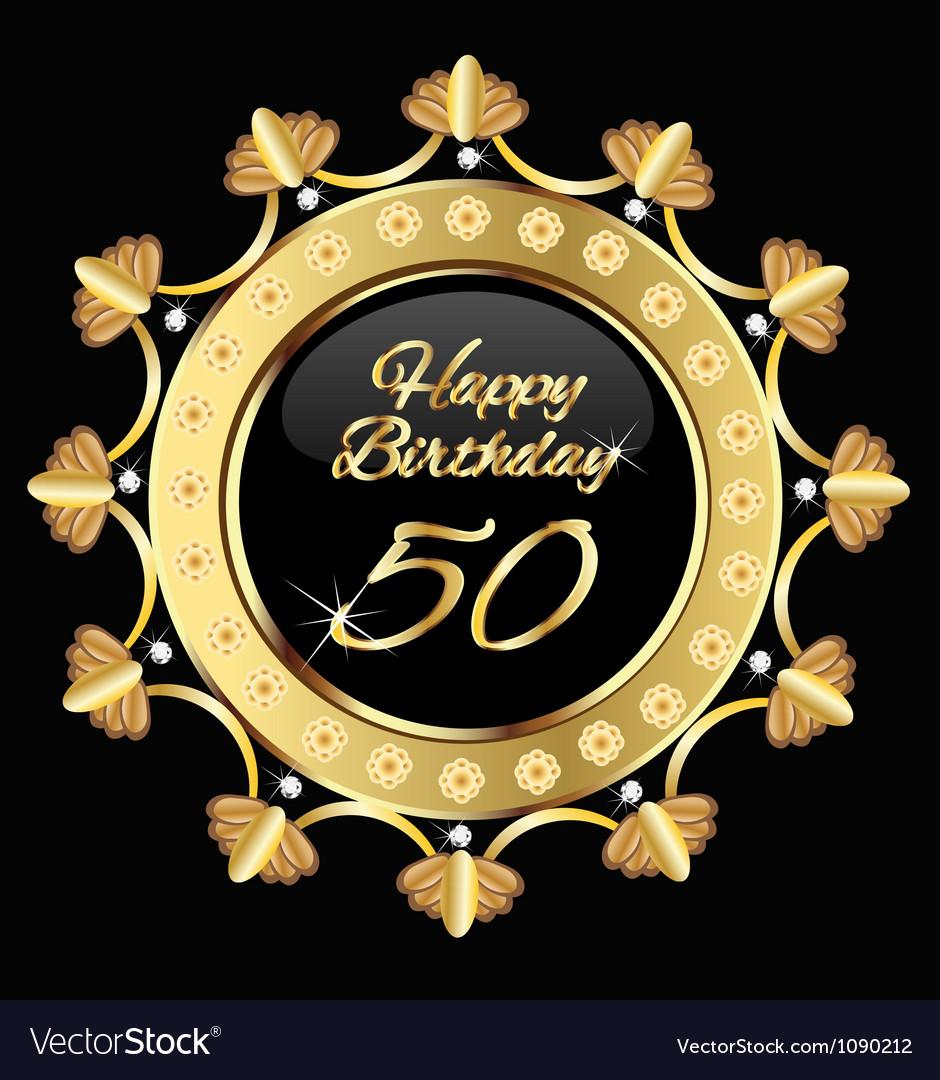 happy 50 years birthday