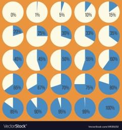 pie chart diagram in percentage vector image [ 1000 x 1080 Pixel ]