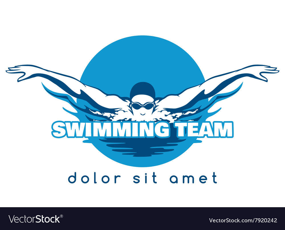 swimming team logo