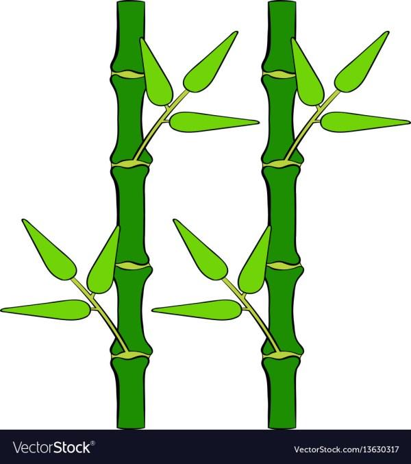 Bamboo Tree Cartoon