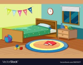Book Bedroom Clipart Vector Images 63