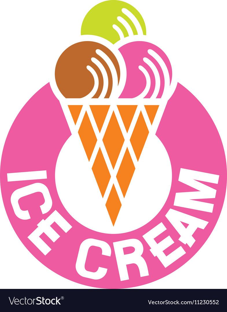 ice cream sign icon