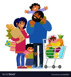 Family Shopping Images