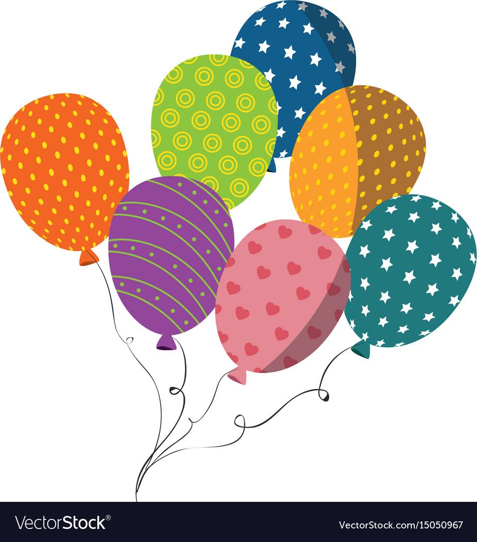 balloons cute flying