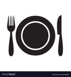 icon restaurant menu vector vectorstock vectors royalty