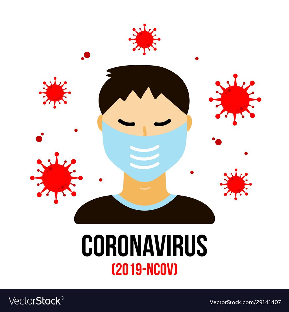Coronavirus Cartoon Images With Mask