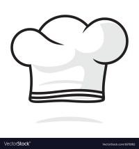 Chef hat Royalty Free Vector Image - VectorStock
