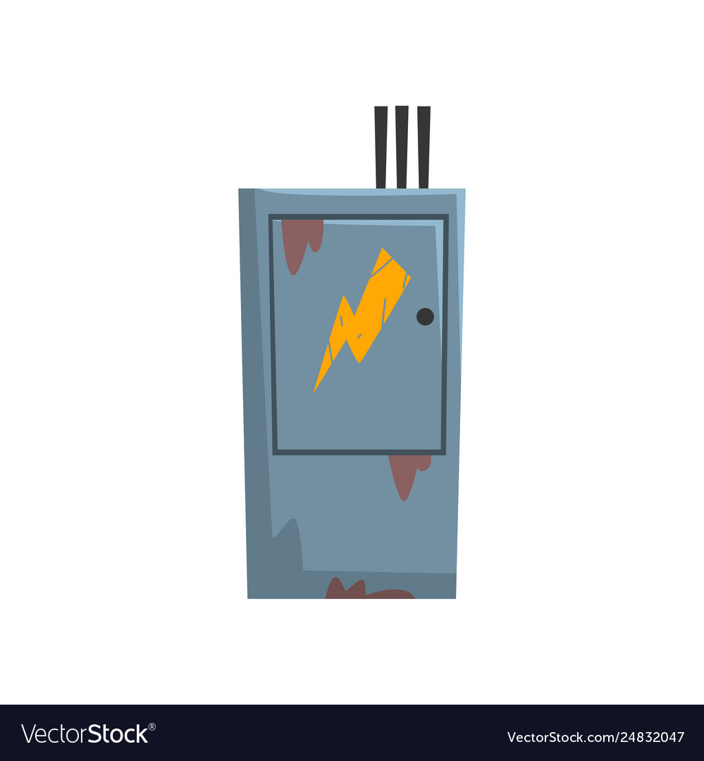 hight resolution of electric breaker fuse box electrical equipment vector imagebreaker fuse box 20