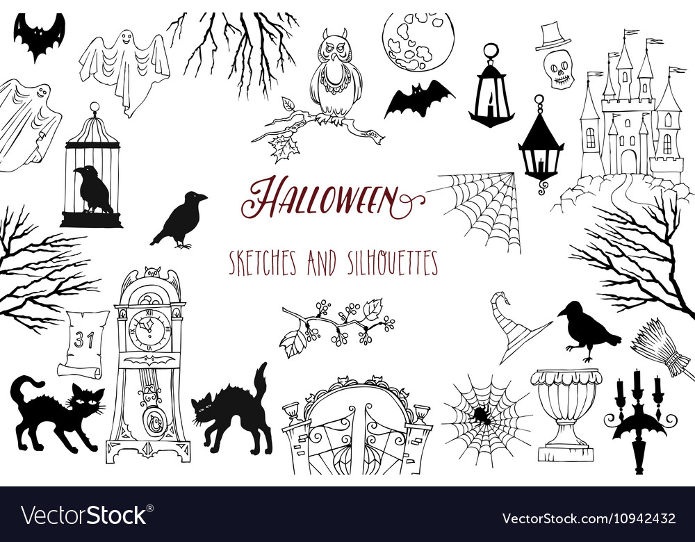 Country living editors select each product featured. Halloween Decorations Royalty Free Vector Image