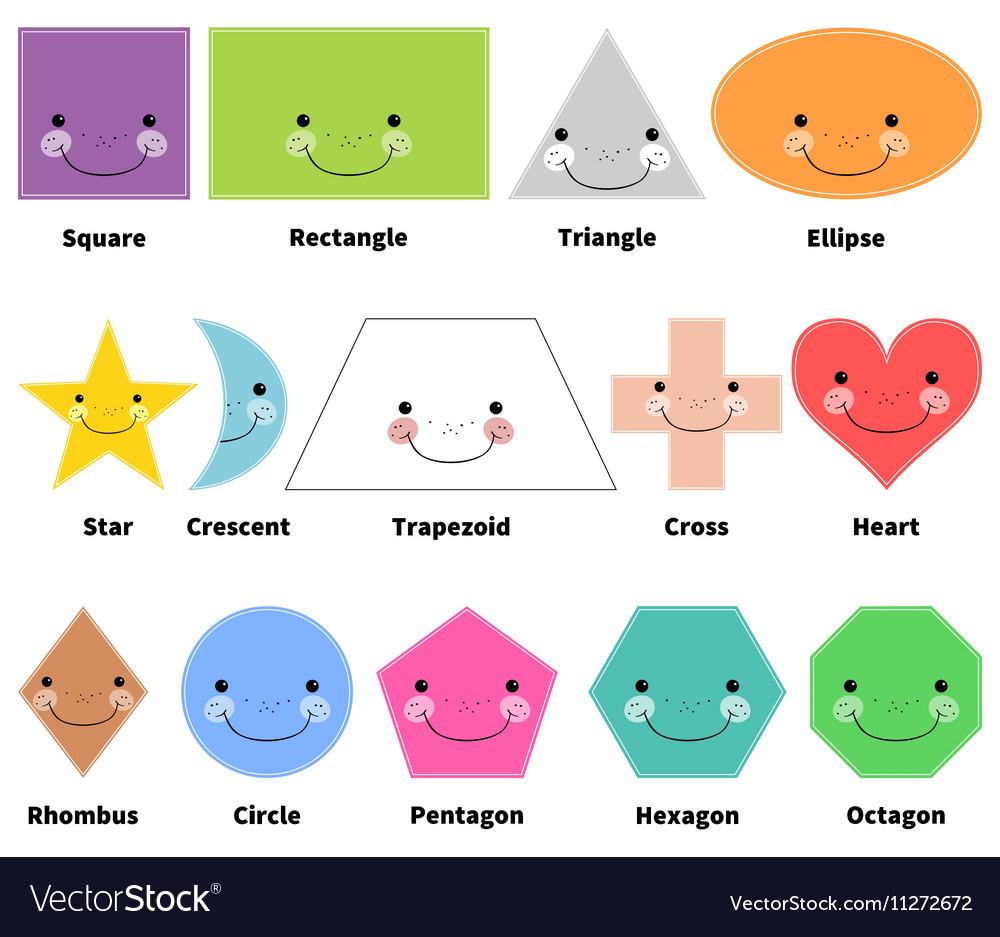 learn 2d shapes cartoon
