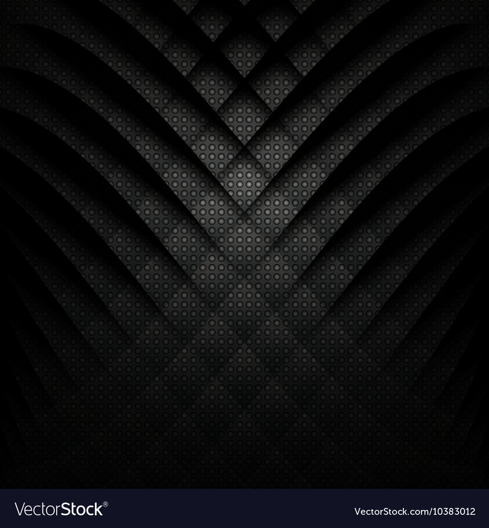 abstract geometric background black