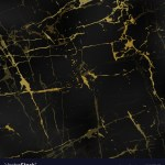 Black Marble Textures With Gold Royalty Free Vector Image