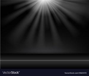 background dark lighting studio vector