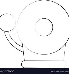 fire alarm bell vector image [ 1000 x 1000 Pixel ]