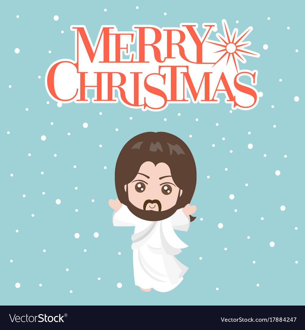 jesus christ in white