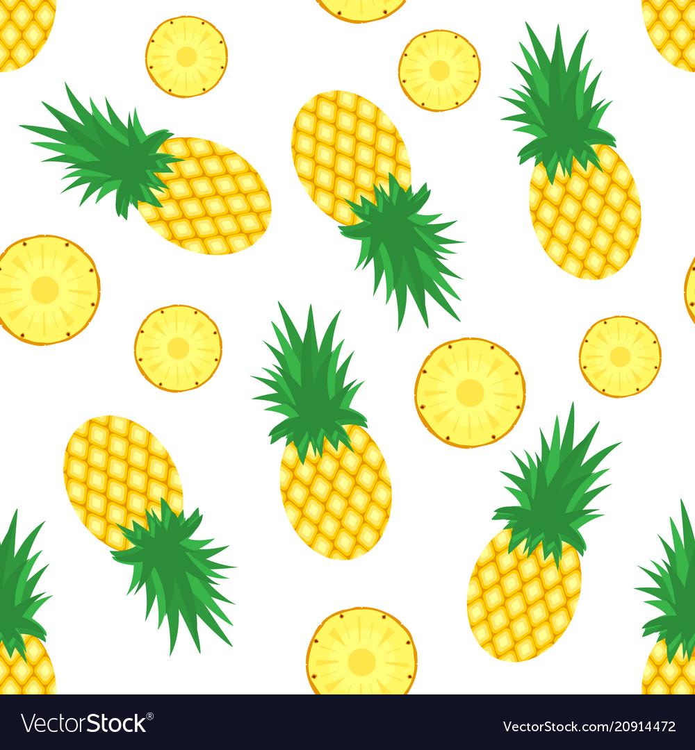 pineapple background fresh pineapples