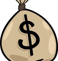 sack of dollars clip art cartoon vector image [ 759 x 1080 Pixel ]