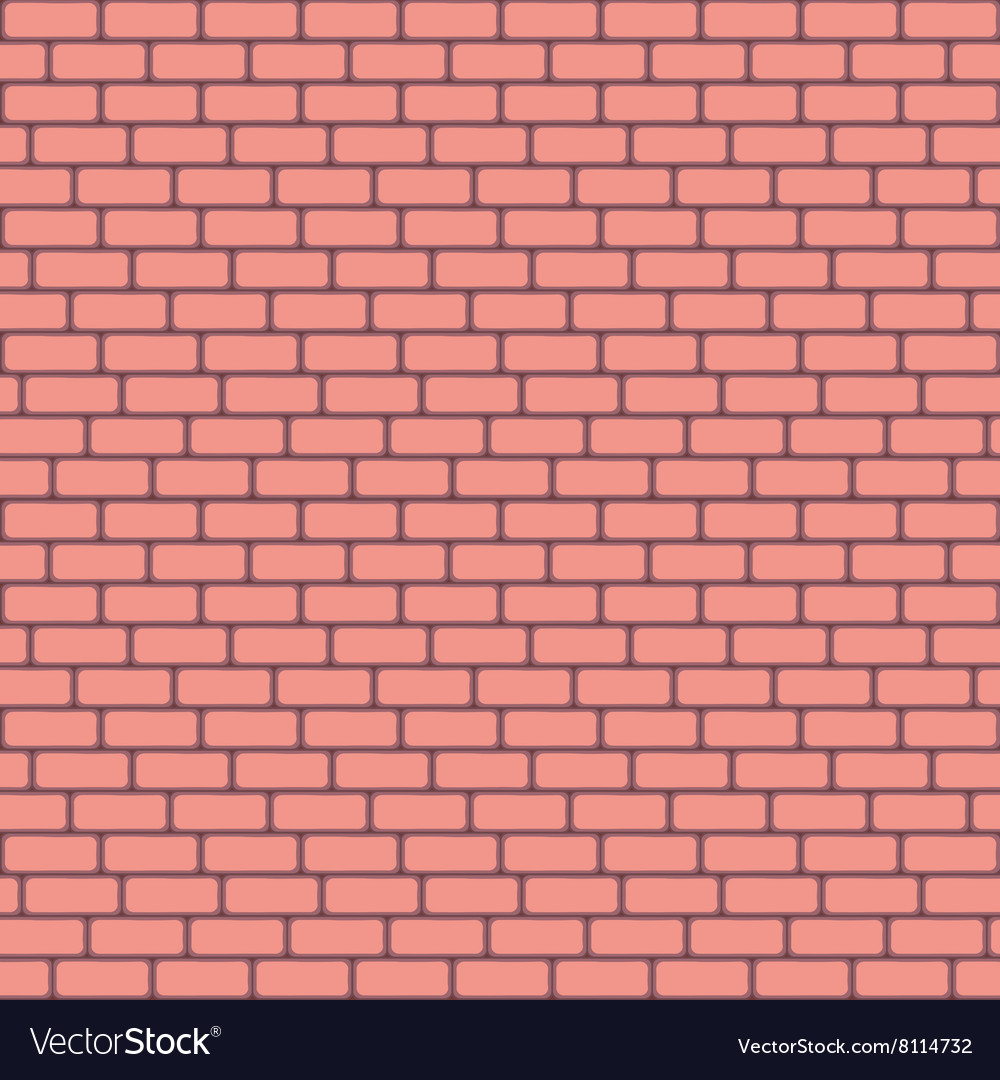 pink brick wall seamless