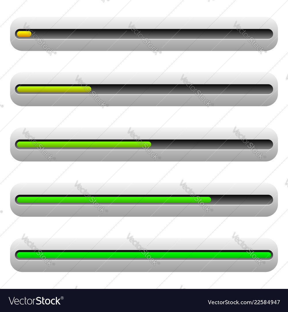 progress bar level indicator