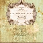 Vintage Restaurant Sign Royalty Free Vector Image