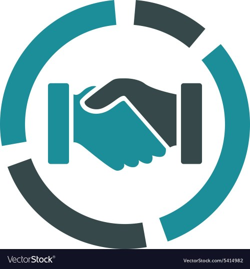 small resolution of acquisition diagram icon from business bicolor set vector image
