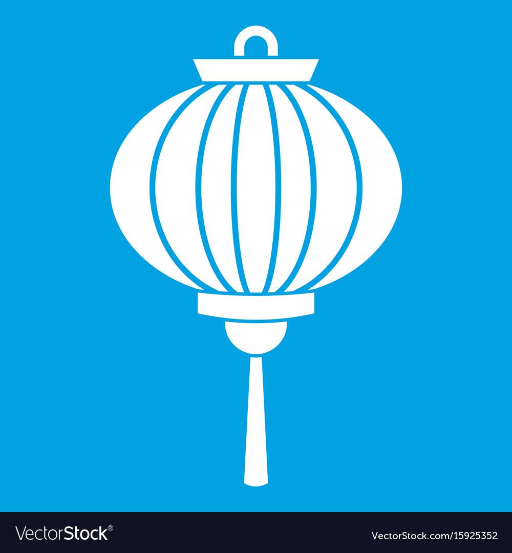 red chinese lantern icon