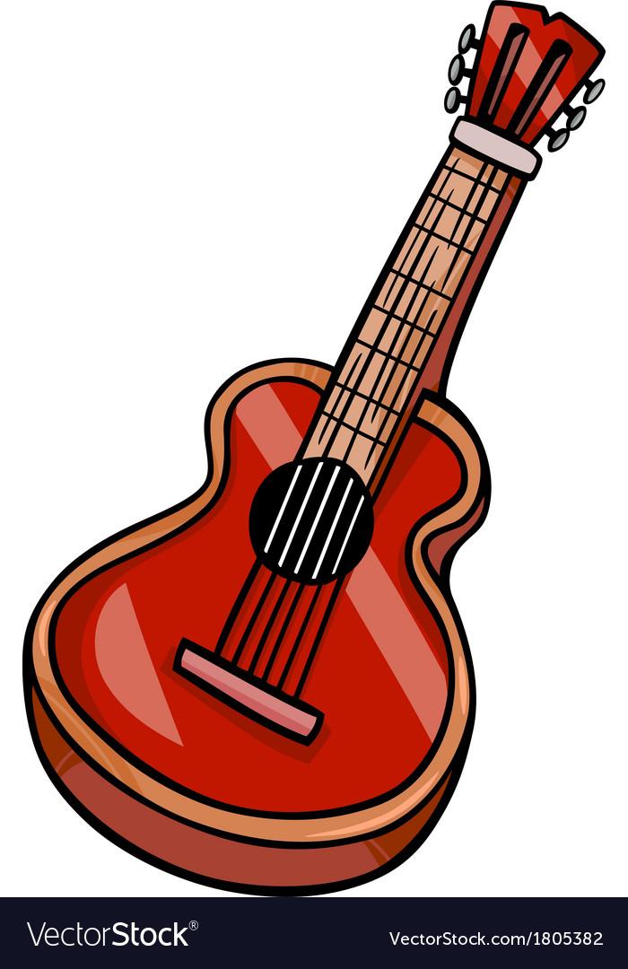 Guitar Images Clip Art : guitar, images, Acoustic, Guitar, Cartoon, Royalty, Vector, Image
