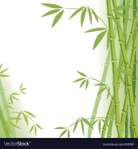 Background bamboo Royalty Free Vector Image - VectorStock
