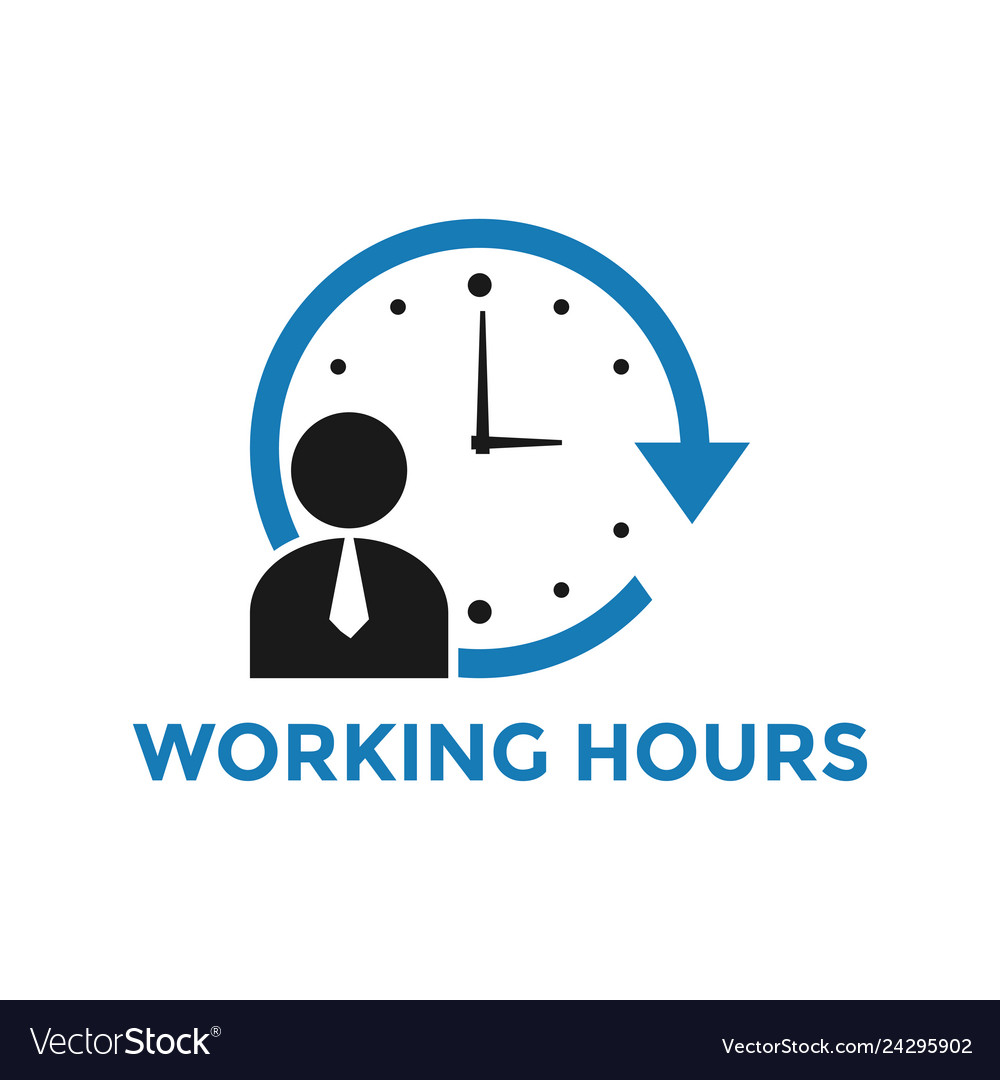 Staff meeting records template (doc 59kb) (pdf 410.5kb). Working Hours Icon Design Template Isolated Vector Image