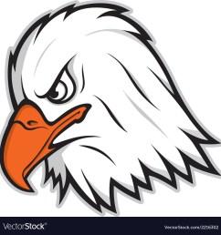 eagle mascot vector image [ 1000 x 1031 Pixel ]